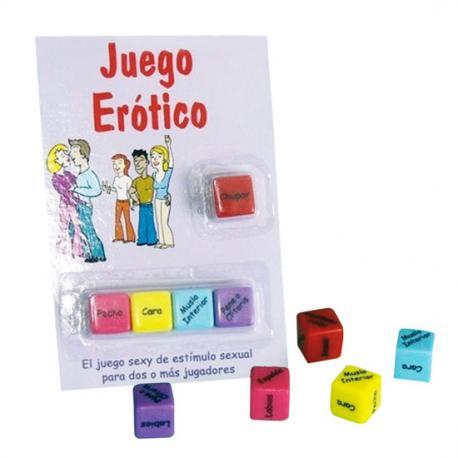 JUEGO DE DADOS EROTICO - Imagen 1