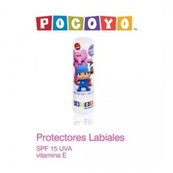 PROTECTOR LABIAL POCOYO SPF 15 VIT E - Imagen 1