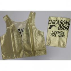 CHALECO CHICA BOND 007 - Imagen 1