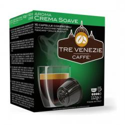 TRE VENEZIE CAFFE - AROMA CREMA SOAVE 16 CÁPSULAS - Imagen 1
