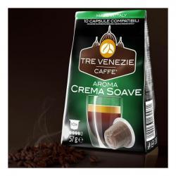 TRE VENEZIE CAFFE - AROMA CREMA SOAVE 10 CÁPSULAS