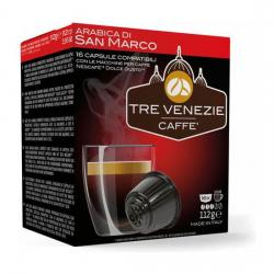 TRE VENEZIE CAFFE - ARABICA DI SAN MARCO 16 CÁPSULAS