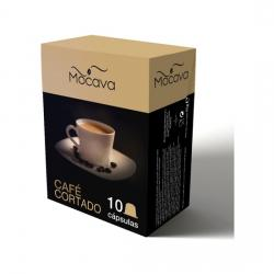 MOCAVA CAFE CORTADO  10 CAPSULAS
