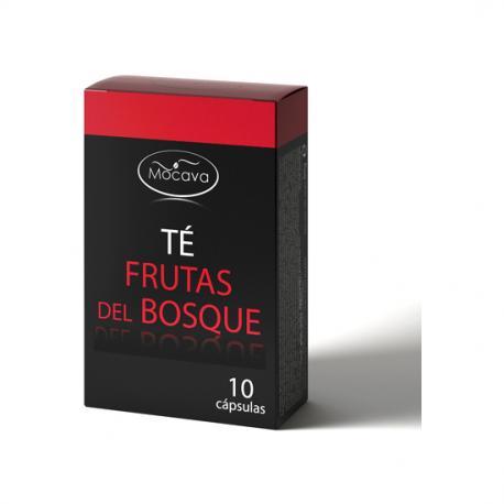MOCAVA TE FRUTAS DEL BOSQUE SOLUBLE  10 CAPSULAS - Imagen 1