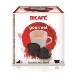 GOURMET 16 CÁPSULAS DE LA MARCA BI CAFÉ - Imagen 1