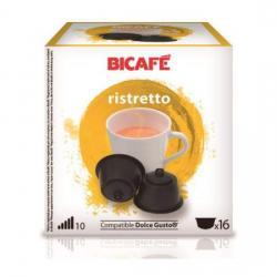 RISTRETTO 16 CÁPSULAS DE LA MARCA BI CAFÉ - Imagen 1