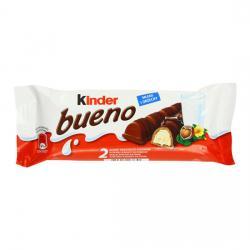 KINDER BUENO 2 BARRITAS 43 GR - Imagen 1