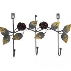 PERCHA METAL ROSAS