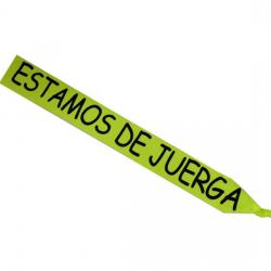 BANDA FLUOR ESTAMOS DE JUERGA NEGRO - Imagen 1