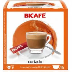 CORTADO 16 CÁPSULAS BI CAFÉ - Imagen 1