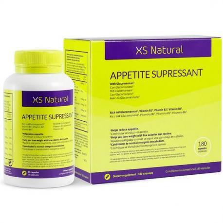 XS NATURAL APPETITE SUPPRESSANT - CÁPSULAS SACIANTES - Imagen 1