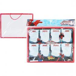 PIZARRA SEMANA 30X40 C/ROTULADORES SPIDERMAN - Imagen 1