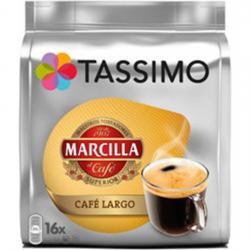 TASSIMO CAFÉ LARGO MARCILLA, 16 CÁPSULAS - Imagen 1
