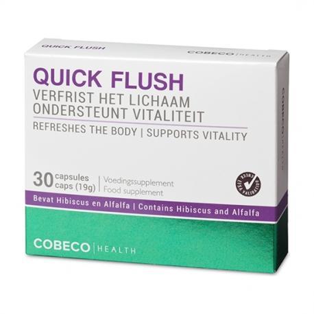 COBECO QUICK FLUSH 30 CÁPSULAS FLATPACK (EN, NL) - Imagen 1