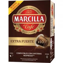 EXTRA FUERTE MARCILLA SUPERIOR, 10 CÁPSULAS COMPATIBLES NESPRESSO - Imagen 1