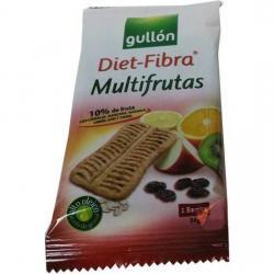 GALLETAS GULLÓN DIET FIBRA MULTIFRUTAS BOLSA 24 GR