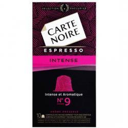 CARTE NOIRE ESPRESSO INTENSE N9 - 10 CÁPSULAS COMPATIBLES NESPRESSO - Imagen 1