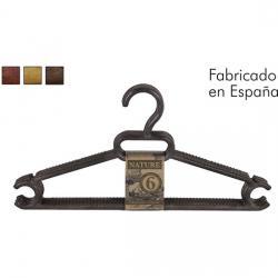 SET 6 PERCHAS 37,5x18,5cm NATURE - COLORES SURTIDOS - Imagen 1