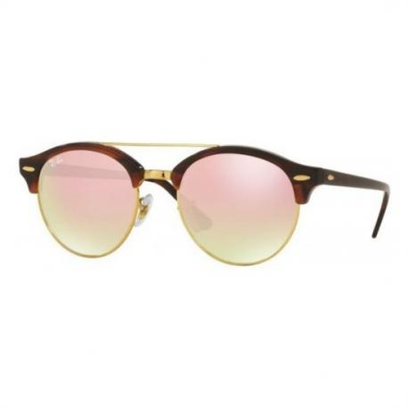GAFA DE SOL RAY-BAN CLUBROUND DOUBLE BRIDGE RB4346 990/7O/51 - Imagen 1