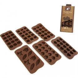 MOLDE CHOCOLATES - 6 MODELOS SURTIDOS - Imagen 1