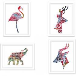 CUADRO RECTANGULAR ANIMALES - MODELOS SURTIDOS - Imagen 1