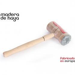 MAZO CON PUNTA DE METAL 28x11x5cm WOODEN - Imagen 1
