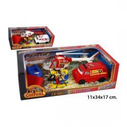 Figuras con 2 Vehiculos, GUISVAL - Imagen 1