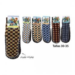 Calcetines Walk-Home Infantil Tallas 30-35 Colores Surtidos, WAT, 1 par - Imagen 1