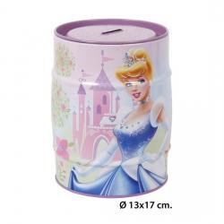 HUCHA METAL PRINCESS, DISNEY, -PRINCESS-, 13X17CM. - Imagen 1